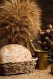 Papaver en brood Royalty-vrije Stock Foto
