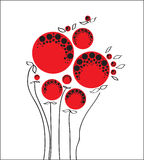 Papaveri rossi Fotografie Stock Libere da Diritti