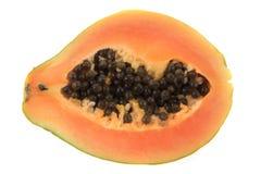 Papaw owoc odizolowywająca Zdjęcia Stock