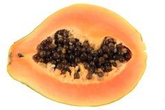 Papaw owoc odizolowywająca Fotografia Royalty Free