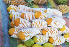 Papaya αγορά Στοκ εικόνα με δικαίωμα ελεύθερης χρήσης