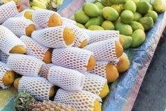 Papaya αγορά Στοκ Φωτογραφίες