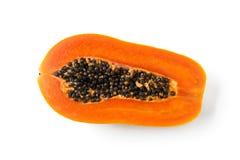 Papaya φετών Στοκ Εικόνες