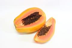 Papaya φρούτα Στοκ εικόνες με δικαίωμα ελεύθερης χρήσης