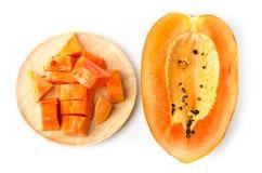 papaya ώριμο Στοκ φωτογραφία με δικαίωμα ελεύθερης χρήσης