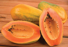 Papaya. Stock Photo