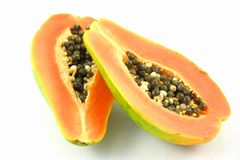 Papaya 2 Stock Photo