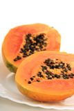 Papaya. Royaltyfri Bild