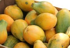 Papaya Stockbild