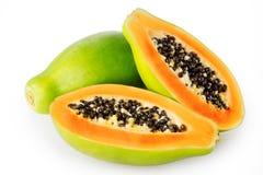 Papaya imagenes de archivo