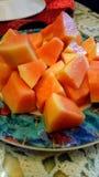 papaya Imagens de Stock Royalty Free