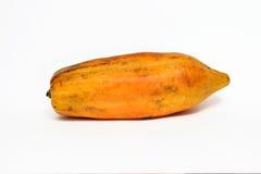Papaya anaranjada Fotografía de archivo libre de regalías