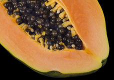 Papaya close Stock Image