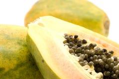 Papaya close up Stock Photography