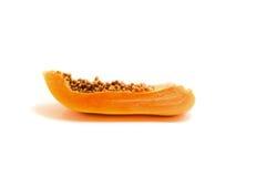 Papaya cut Royalty Free Stock Photos