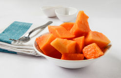 Papaya das köstliche Stockfotografie