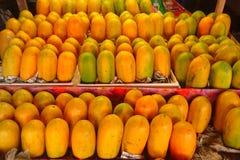 Papaya de la fruta fotografía de archivo libre de regalías