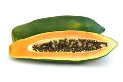 Papaya de la presa de Khak Foto de archivo libre de regalías