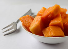 Papaya the Delicious Stock Images