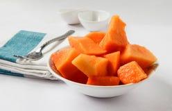 Papaya the Delicious Stock Photography