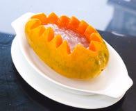 Papaya dessert Stock Photography