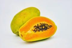 Papaya dulce Imagenes de archivo
