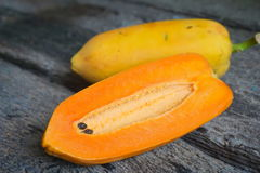Papaya-Früchte Stockfotos