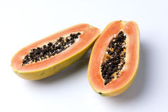 Papaya. Fruit food healthy sweet Royalty Free Stock Images