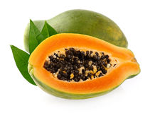 Papaya fruit Stock Photography