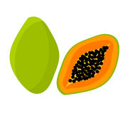 Papaya fruit icon Stock Images