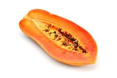 Papaya fruit isolated Royalty Free Stock Photos