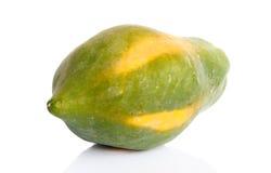 Papaya fruit isolated Royalty Free Stock Photo