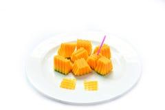 Papaya fruit Stock Images