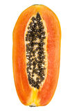 Papaya fruit slice Royalty Free Stock Photo