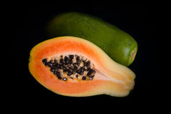 Papaya Fruit Stock Photos