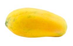 Papaya fruits isolated on white background Royalty Free Stock Photos