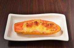 Papaya Gratin Stock Images