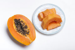The papaya Stock Images