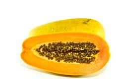 Papaya. For healthy in Thailand Stock Photos