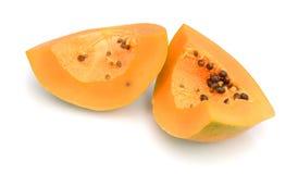 Papaya. Isolated Stock Images