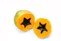 Papaya isolated on white background. Stock Photography