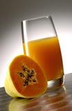 Papaya juice Stock Images