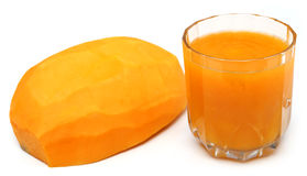 Papaya Juice Royalty Free Stock Photos
