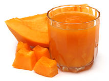 Papaya Juice Royalty Free Stock Images