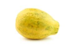 Papaya madura Imágenes de archivo libres de regalías