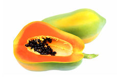 Papaya matures. Stock Image