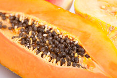 Papaya, melon and watermelon Royalty Free Stock Image