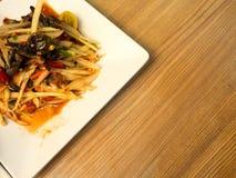 Papaya Salad or we call Som Tom, Thai Food Stock Photography