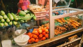Papaya salad cart Stock Photos