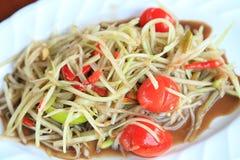 Papaya salad Stock Photos